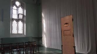Oscar Wilde's prison door
